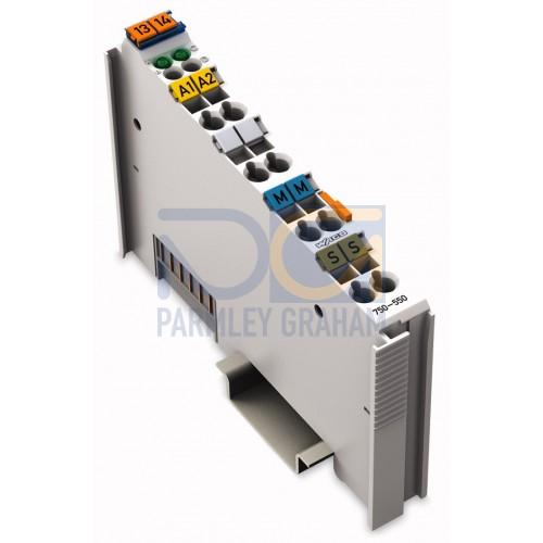 750-550 - 2-channel analog output module 0-10 V