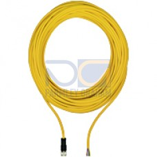 M12 8-pin open-ended cable, straight, 10m