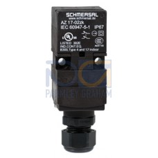 Safety Switch - ATEX Zone 22, Non Locking, 1 N/O 1N/C Contacts, Latching Force 30 N  -  EX-AZ17-11ZRK-3D