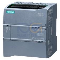 CPU 1212C - 24 VDC PSU, 8 DI (24 VDC), 6 DQ (24 VDC), 2 AI (0-10V), 75kB