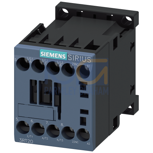 3RT2 Contactor, S00, 4kW (9A), 230 V, 50/60 Hz, 1 NC, Screw