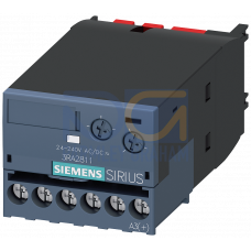 On-delay Time Relay, for Size S00 & S0, 24 - 240V supply, Time Range 0.05 to 100S