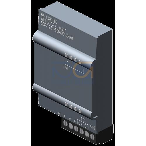 SB 1231 - TC, 1 AI Thermocouple, Type J or K