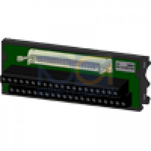 Terminal block with Screw terminals package qty. = 2 pcs. (sufficient For one module)