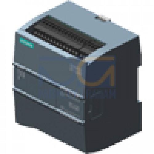 CPU 1212C - 24 VDC PSU, 8 DI (24 VDC), 6 Relay DQ, 2 AI (0-10V), 75kB