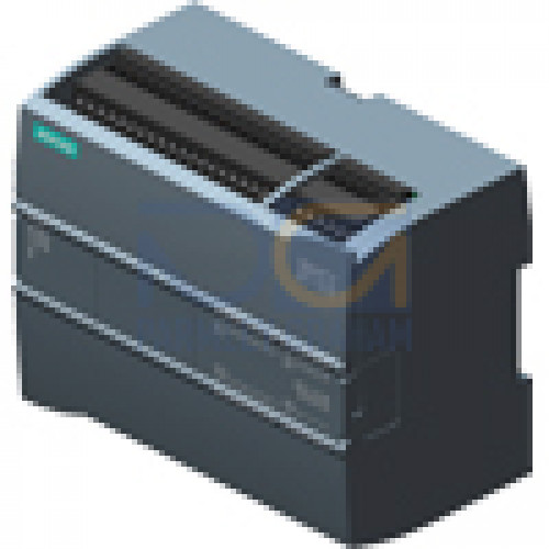 CPU 1215C - 24 VDC PSU, 14 DI (24 VDC), 10 DQ (24 VDC), 2 AI (0-10V), 2 AQ (0-20mA) 125kB, 2 port Switch