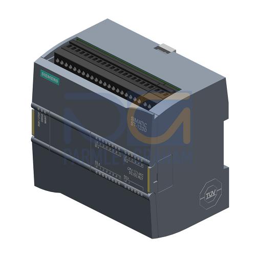 CPU 1214 FC - 24 VDC PSU, 14 DI (24 VDC), 10 Relay DQ, 2 AI (0-10V), 125kB