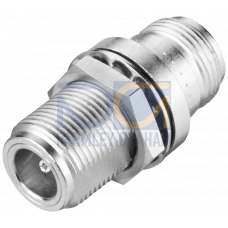 RCoax N-Connect / N-Connect Female/Female cabinet bushing