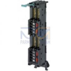 Front plug-in module 4 x 8 I/O, screw terminals