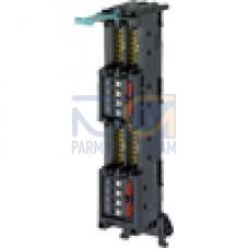 Front plug-in module 4 x 8 I/O, push-in
