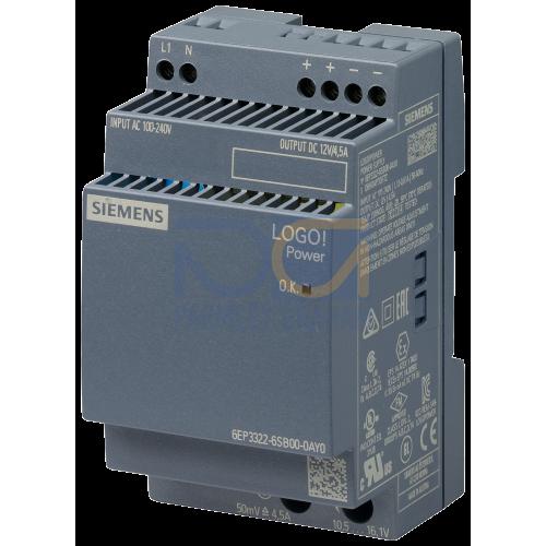 LOGO! Power 12V 4.5A (110-240V AC Input)