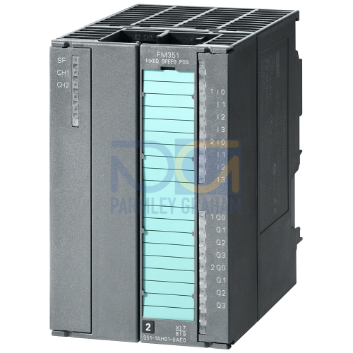 FM 351 positioning module For rapid traverse and creep speed drive, 20 Pin Connector Required