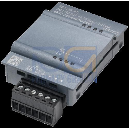SB 1232 - 1 AO, +/- 10VDC (12 Bit) or 0-20mA (11 Bit)