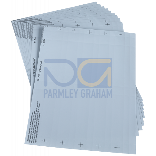 Sheet with labelstrips (Algrey) (10pcs.)