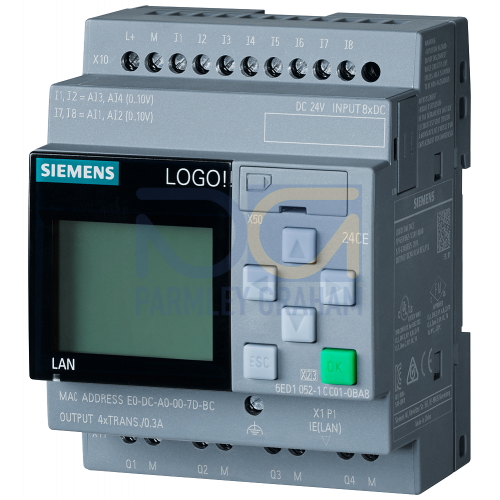 LOGO! 24CE - 8 digital Inputs 24Vdc / 4 digital outputs 24Vdc