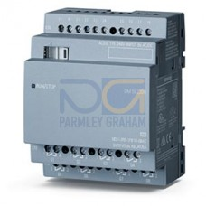 LOGO! DM16 230R - 230 V AC supply, 8 digital Inputs 230 V AC, 8 relay outputs