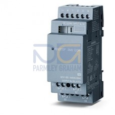 LOGO! DM8 12/24R - 12/24 V DC supply voltage, 4 digital Inputs 12/24 V DC, 4 relay outputs 5 A