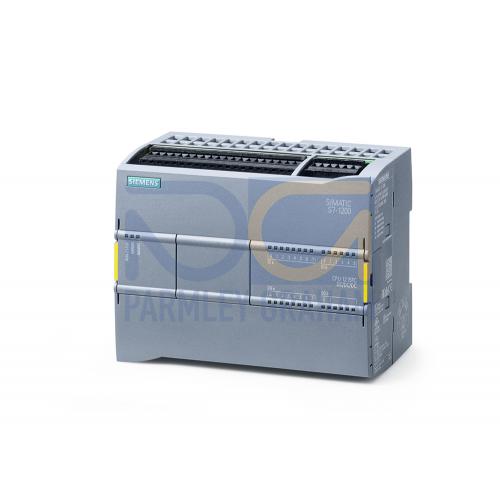 CPU 1215 FC - 24 VDC PSU, 14 DI (24 VDC), 10 DQ (24 VDC), 2 AI (0-10V), 150kB