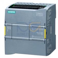 CPU 1212 FC - 24 VDC PSU, 8 DI (24 VDC), 6 DQ (24 VDC), 2 AI (0-10V), 100kB