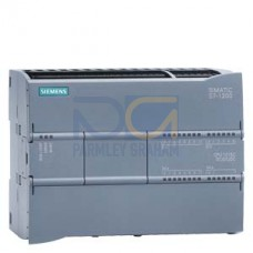 CPU 1217C - 24 VDC PSU, 14 DI (24 VDC), 10 DQ (24 VDC), 2 AI (0-10V), 2 AQ (0-20mA) 150kB, 2 port Switch