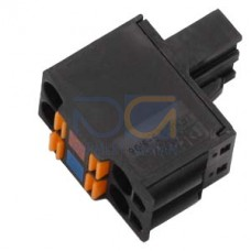 Connector, 2x2 pole For 24VDC supply, push-in,10pcs.