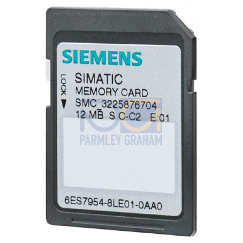 SIMATIC  -  Memory Card 4 MB