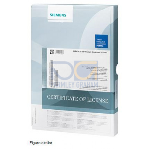 SIMATIC S7, F-programming tool, STEP 7 Safety Advanced V14 SP1; engineering software; Floating Licen