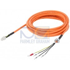 Power Cables for Motors with Shaft Height 20, 30 & 40, length = 3m