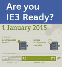 Are you IE3 ready?